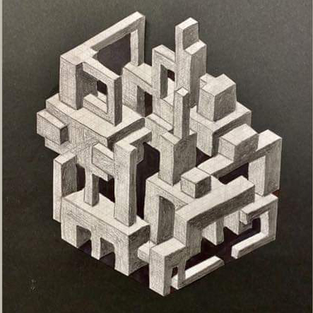 Isometric Drawing: Create an Impossible Fortress