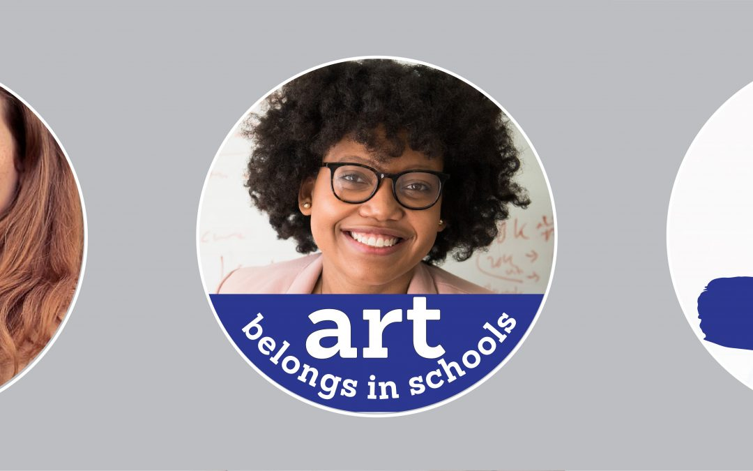 "How to add a ""Art belongs in schools"" Facebook frame"