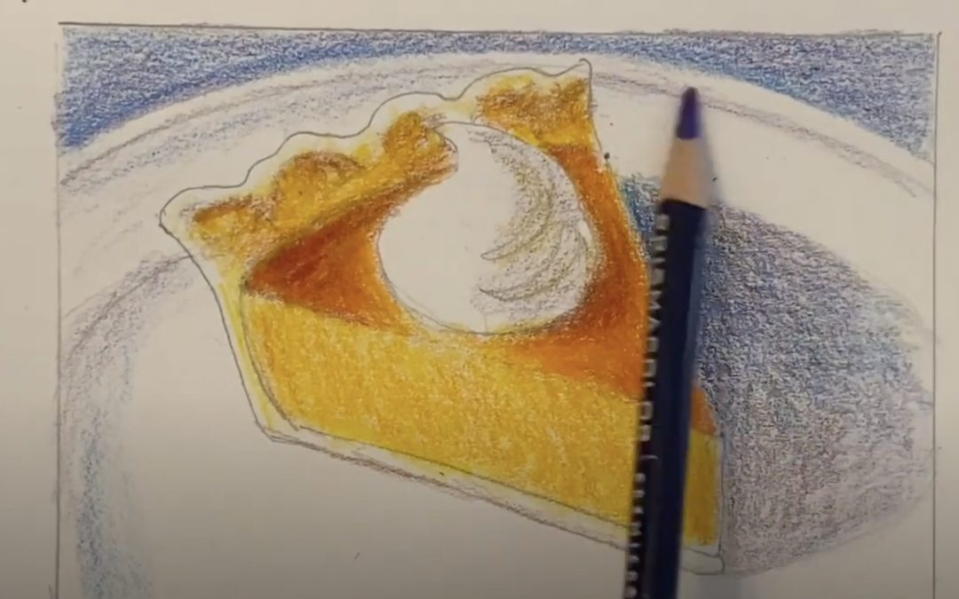 How to Draw Pumpkin Pie