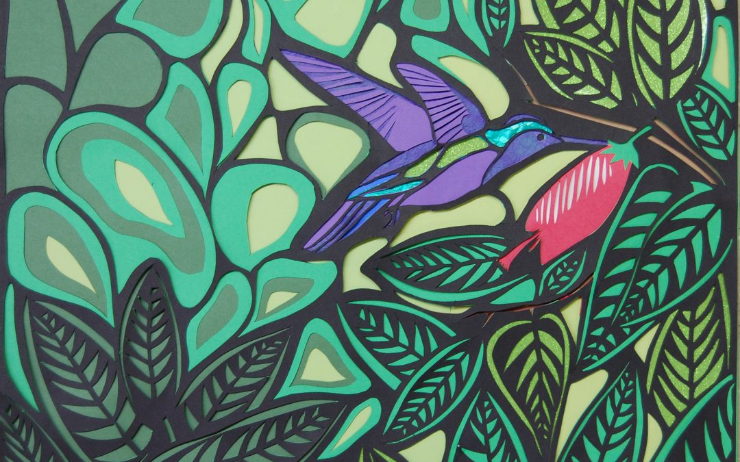 Cut Paper designs inspired by Molas